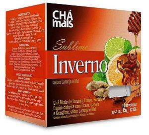 Blend pra infusão em Sachê Sublime Inverno - Sabor Laranja e Mel 10 sachês – Chá mais