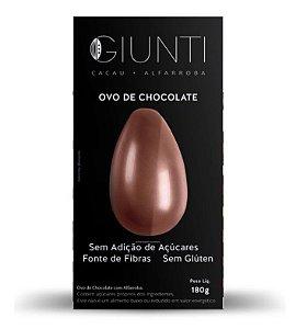 Ovo de Chocolate 180g – Cacau + Alfarroba – GIUNTI