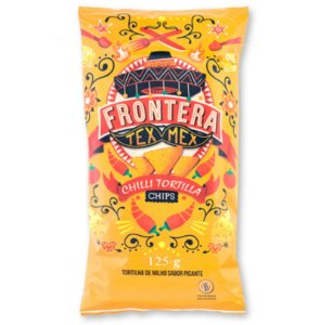 Chilli Tortilla Chips – 125g – Frontera