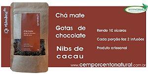 Blend para Infusão: Erva-Mate, Gotas de Chocolate, Nibs de Cacau 20g – Blenderia Curitiba.