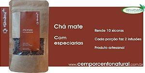 Blend para Infusão: Chá mate com especiarias 20g – Blenderia Curitiba.