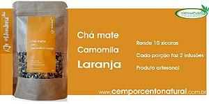 Blend para infusão: Mate com Camomila e Laranja – 20g Blenderia Curitiba