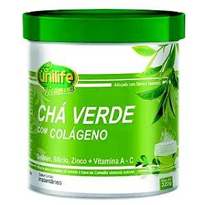 Chá Verde com Colágeno – Sabor Limão 220g – Unilife