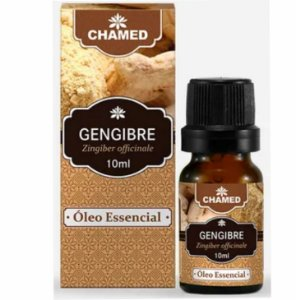 Óleo de Essencial de Gengibre (Zingiber officinale) 10ml - Chamed