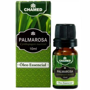 Óleo de Essencial de Palmarosa (Cymbopogon martinii) 10ml - Chamed