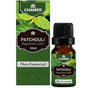 Óleo Essencial de Patchouli (Pogostemon cablin) 10ml – Chamel