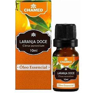 Óleo Essencial de Laranja Doce (Citrus aurantium) 10ml – Chamel