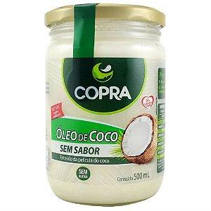 Óleo de coco sem sabor e sem cheiro 500ml - Copra