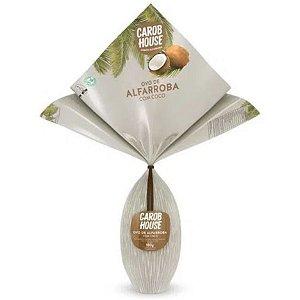 Ovo de Páscoa de Alfarroba com Coco 180g - Sem adição de açúcares, sem Glúten, sem Leite e sem cafeína - Carob House