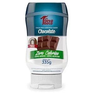 Calda para sobremesa sabor chocolate Zero Calorias, Zero Sódio, Zero Açúcar e Zero Glúten 335g - Mrs Taste