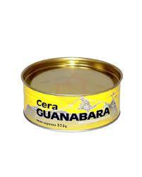 Cera para assoalho marca Guanabara 375 gramas
