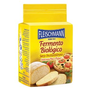 DUPLICADO - FERMENTO BIOLÓGICO FLEISCHMANN 125G