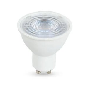 LÂmpada Dicróica LED Luz Neutra 6.5W 6500K Bivolt GU10 branca