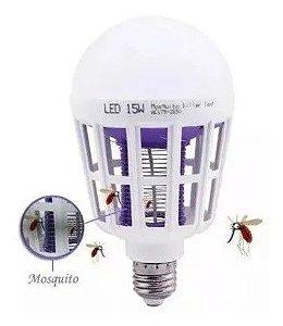 Lâmpada Led Mata Mosquito Insetos Pernilongo Moscas 110v