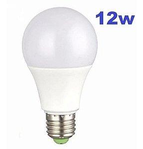 Lâmpada Led 12w Bulbo E27 Bivolt Casa Comércio Loja