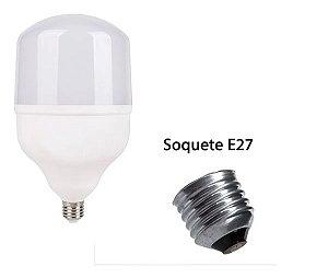Lâmpada Led Bulbo E27 Bivolt Branco Frio 6500k Inmetro 20w