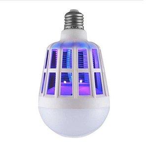 Lampada Mata Mosquitos c/ Choque Eletrico 12w