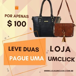 Kit de Bolsas femininas baratas na promoção