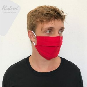 Máscara de proteção - COR VERMELHO