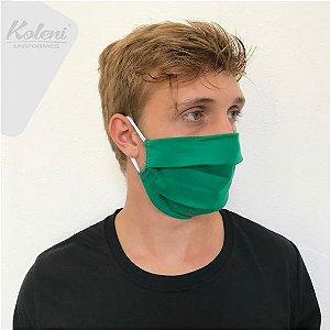 Máscara de proteção - COR VERDE