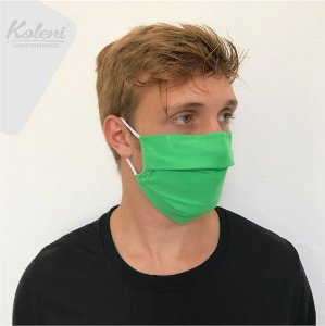 Máscara de proteção - VERDE CLARO