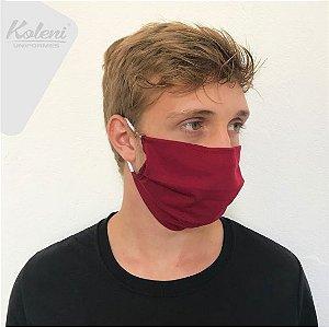 Máscara de proteção - COR VINHO