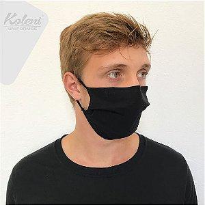 Máscara de proteção - COR PRETO