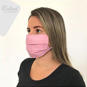 Máscara de proteção - REF 19 ROSE/BRANCO