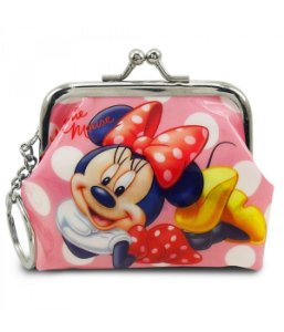 Chaveiro Porta Moedas Minnie Mouse - Disney
