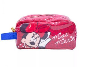 Necessaire Estojo Miss Minnie - Disney