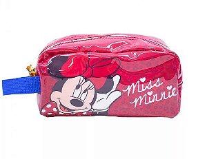 Necessaire Estojo Miss Minnie - Disney