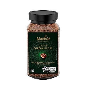 CAFÉ ORGÂNICO LIOFILIZADO NATIVE 90G