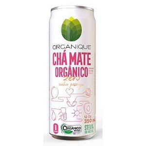 CHÁ MATE ORGÂNICO SABOR PÊSSEGO ORGANIQUE 350ML