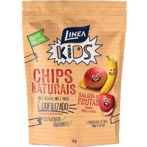 CHIPS NATURAIS SALADA DE FRUTAS LINEA 12G