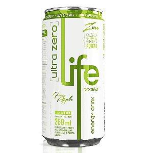 ENERGÉTICO ENERGY DRINK MAÇÃ VERDE LIFE BOOSTER 269ML