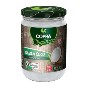 OLEO DE COCO EXTRA VIRGEM ORGANICO COPRA 500ML