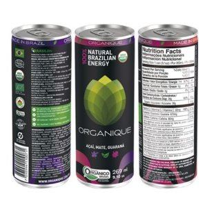 ORGANIQUE ACAI, MATE E GUARANA 269ML