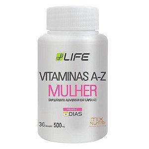 VITAMINAS A-Z MULHER MIX NUTRI 30 CAPSULAS 500MG