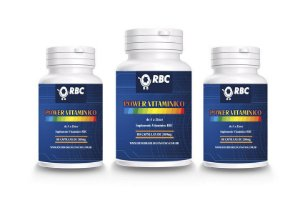 POWER VITAMÍNICO 60 CAPSULAS RBC 500MG