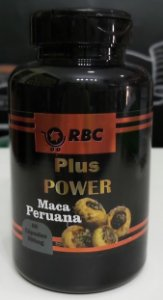 MACA PERUANA PLUS POWER 60 CAPSULAS RBC 500MG