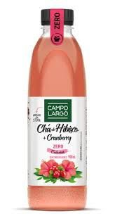 CHÁ CAMPO LARGO HIBISCO COM CRANBERRY ZERO 900ML
