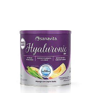 HYALURONIC SKIN PESSEGO COM CAPIM SANTO LATA  SANAVITA 300G