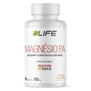 MAGNÉSIO PA LIFE MIX NUTRI 60 CAPSULAS