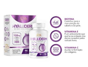 HYALUDERM 90 CAPSULAS MIX NUTRI