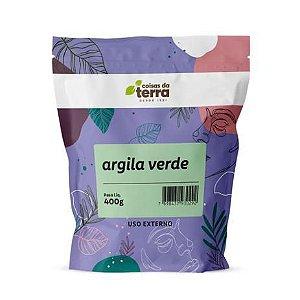 ARGILA VERDE COISAS DA TERRA 400G