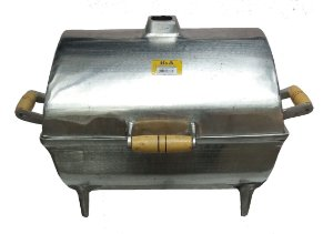 Churrasqueira Bafo Alumínio batido G