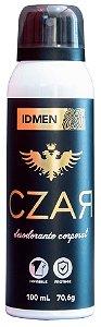 DESODORANTE CZAR BLACK AEROSSOL 100mL