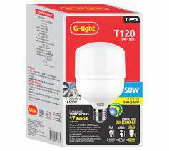 LÂMPADA BULBO LED G-LIGHT 50w T120 AUT E-40