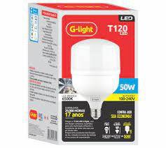 LÂMPADA BULBO LED G-LIGHT 50w T120 BIV E-27