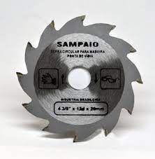 SERRA DE WIDEA 184mm FURO 20mm COM 12 DENTES SAMPAIO